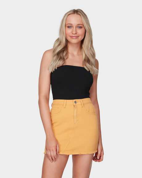 COLOUR UP DENIM SKIRT