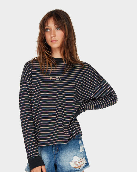 RVCA STRIPES LONG SLEEVE
