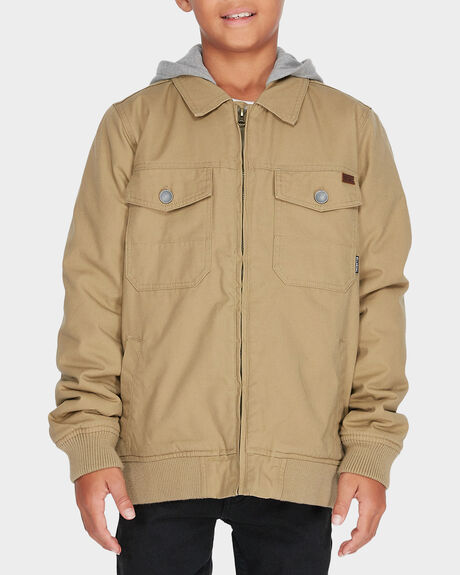 YOUTH BARLOW TWILL JACKET