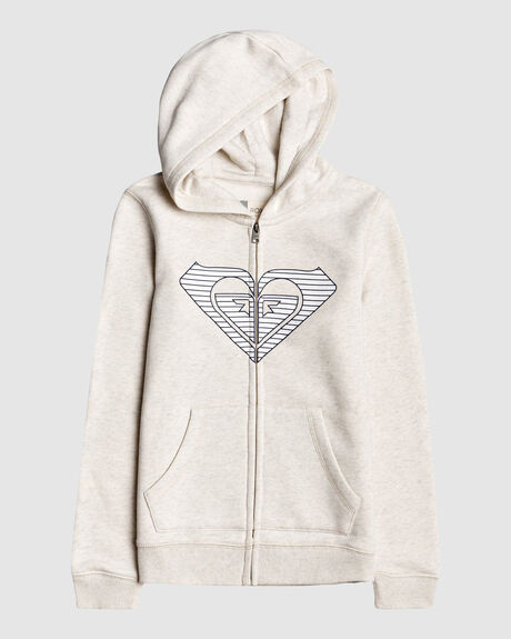 GIRLS BOHEMIAN FLOWERS ZIP-UP HOODIE