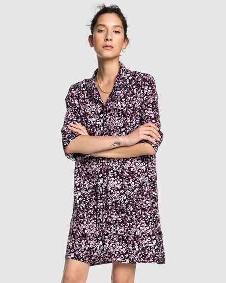 QUIKSILVER WOMENS CAMP SHIRT DRESS