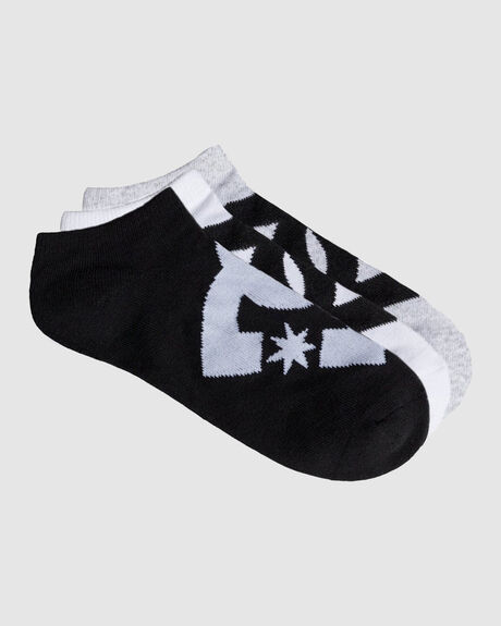 3 PACK ANKLE SOCKS