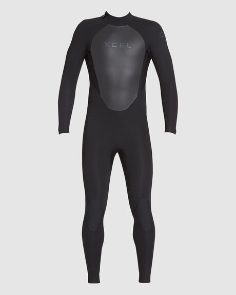 MENS 3/2MM AXIS BACK ZIP THERMO