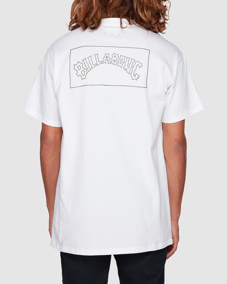 CHECKED ARCH SHORT SLEEVE TEE
