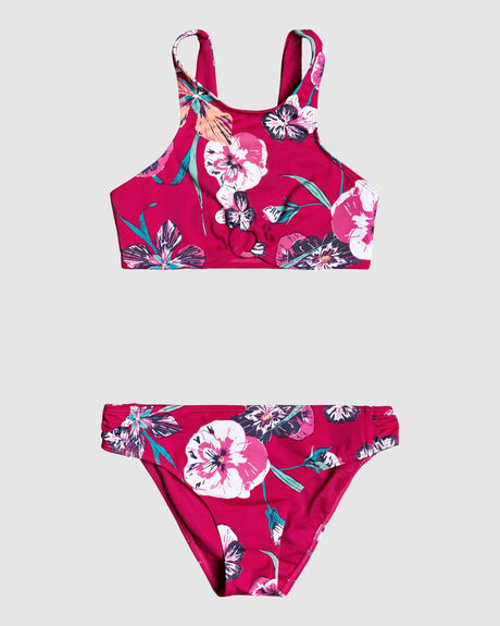 LITTLE WANDERER CROP TOP BIKINI SET