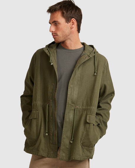 MENS DIVISION TRENCH JACKET