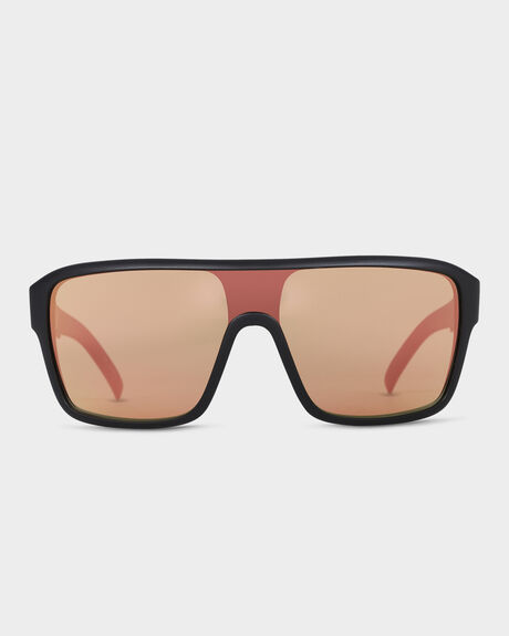 REMIX MATTE BLACK ROSE ROSE GOLD IONISED SUNGLASSES