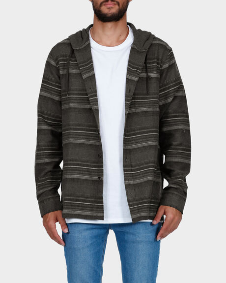 BAJA FLANNEL LONG SLEEVE SHIRT