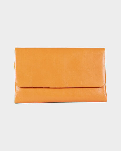 Audrey Leather Wallet Tan