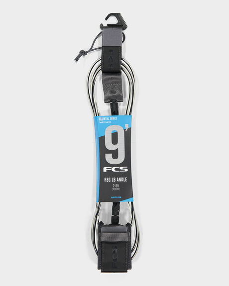 FCS 9' LONGBOARD ANKLE ESSENTIAL LEASH