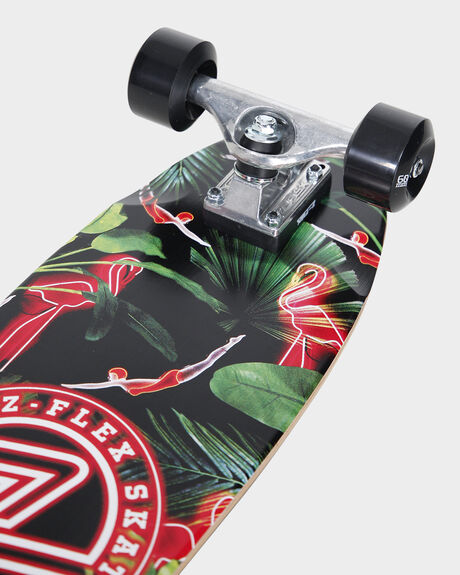CRUISER 27 NEON FLAMINGO SKATEBOARD