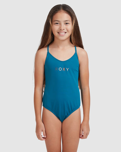 GIRLS SUMMER OF SURF ONE-PIECE SWIMSUIT