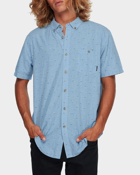 ALL DAY JACQUARD SHORT SLEEVE
