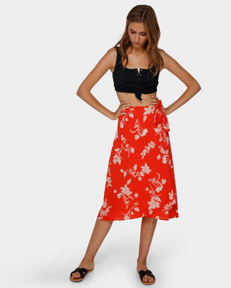 MAD LOVE FLORAL SKIRT