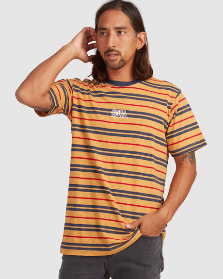 RVCA SHADOW STRIPE SS TEE