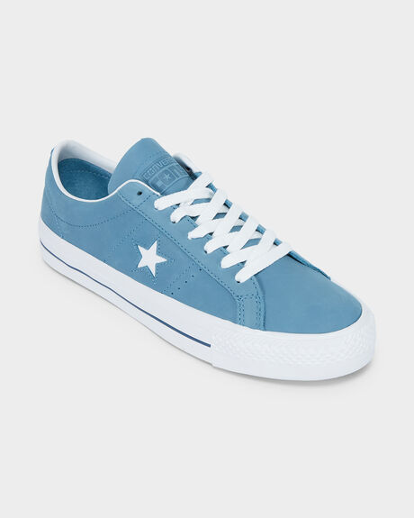 CONVERSE ONE STAR PRO NUBUCK LOW TOP SHOE