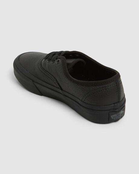 AUTHENTIC (LEATHER) BLACK MONO