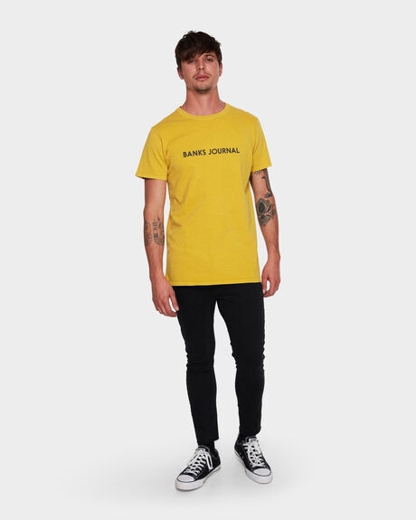 LABEL FADED TEE