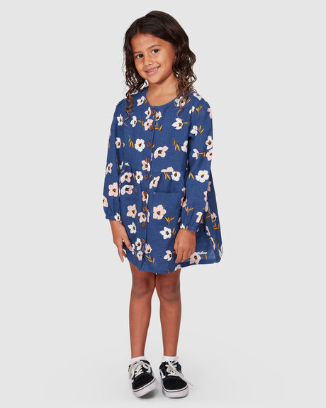 LETS GO LONG SLEEVE DRESS
