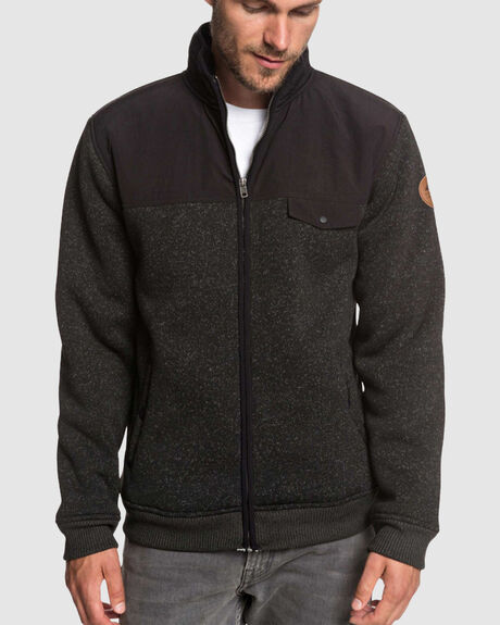 KELLER MIX ZIP POLAR FLEECE HOODIE