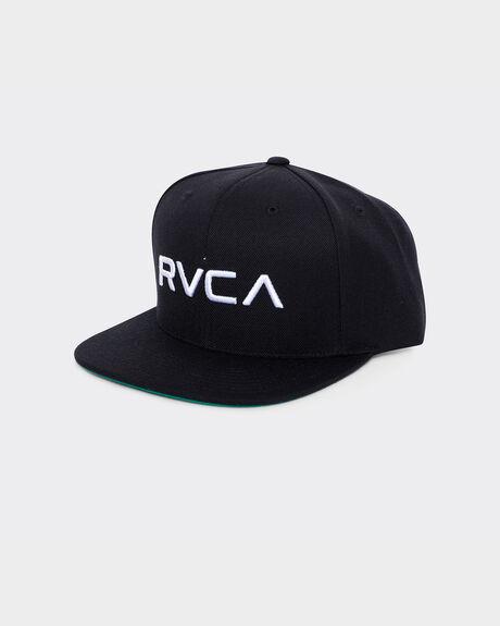 RVCA TWILL SNAPBA