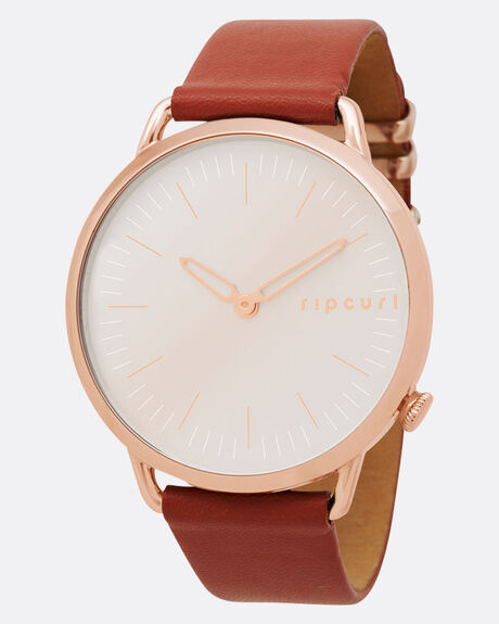 SUPER SLIM ROSE GOLD LEATHER