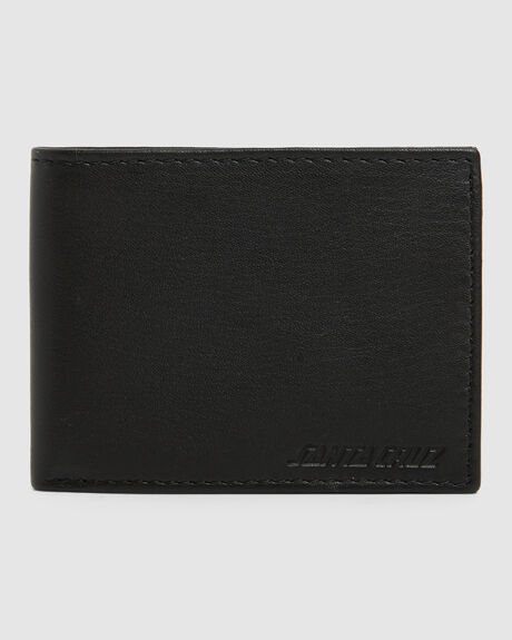 CLASSIC STRIP LEATHER WALLET (