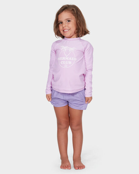 GIRLS PARADISE COVE RASH GUARD