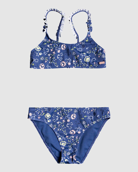 GIRLS SALTED WAVE BRALETTE BIKINI SET