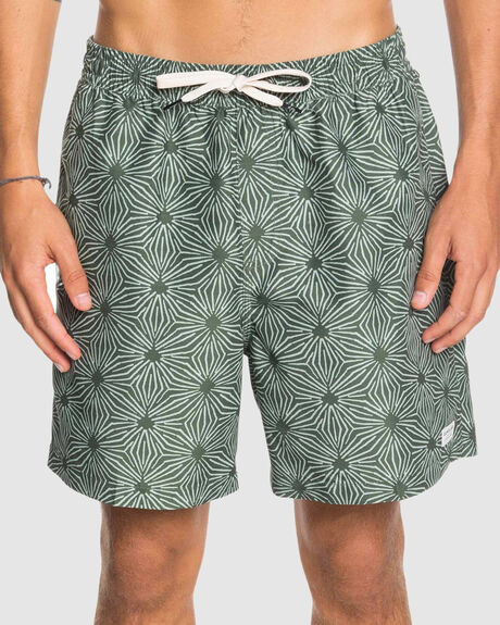 """MENS THREADS AND FINS 17"""" SWIM SHORTS"""