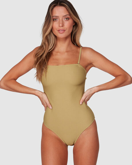 PALM SPRINGS BANDEAU ONE PIECE