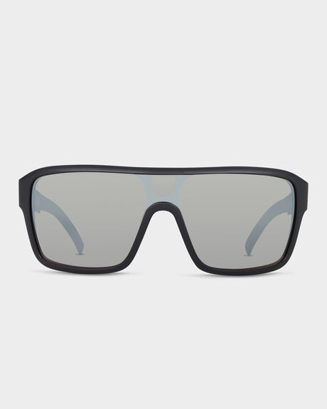 REMIX MATTE BLACK SILVER IONISED SUNGLASSES