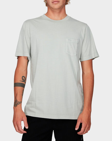 RVCA PIGMENT FADE SS TEE
