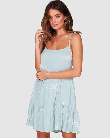 BLUE CLOUDS DRESS
