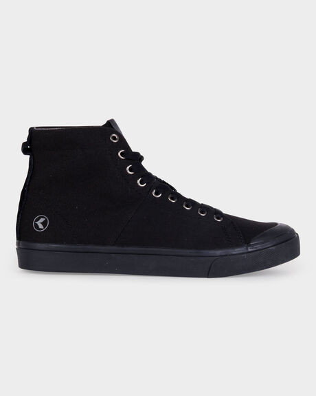 WORLD VULC HI ALL BLACK