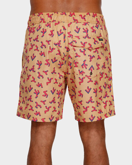 OUT THERE ELASTIC SHORT