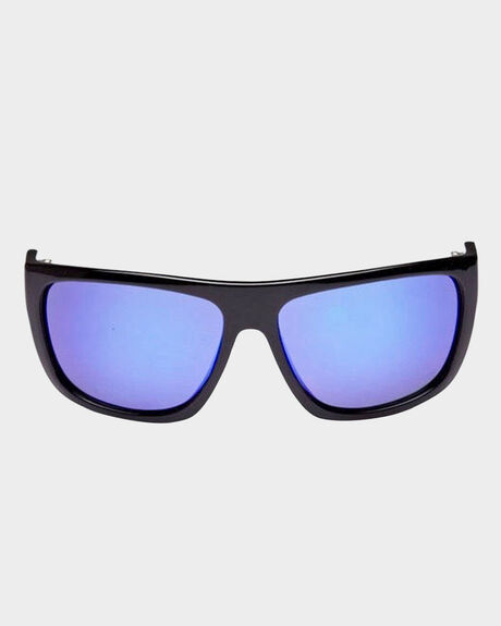 SANCHEZ BLACK AND BLUE POLARISED SUNGLASSES
