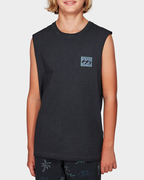 BOYS FULL FROTH MUSCLE TEE