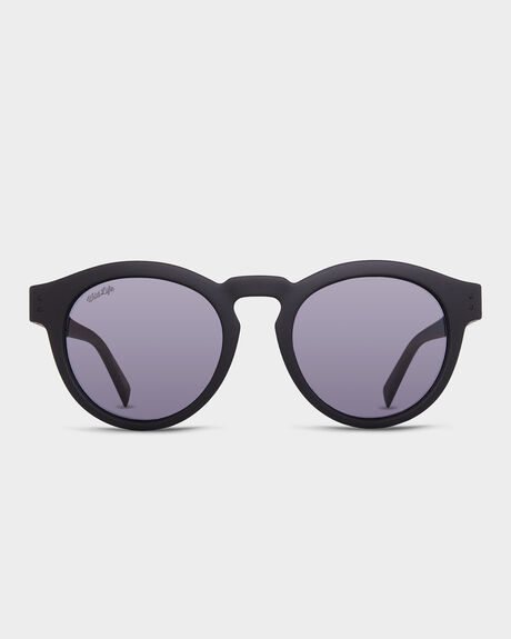 DITTY BLACK SATIN POLARISED SUNGLASSES