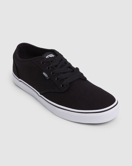 ATWOOD CANVAS BLACK WHITE SKATE SHOE