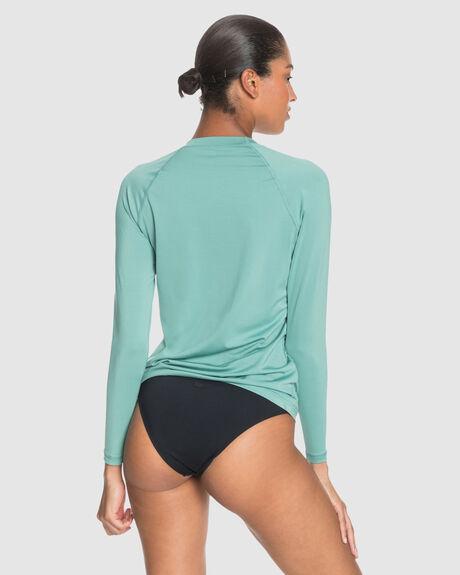 WOMENS BEACH CLASSIC LS UPF RASH VEST