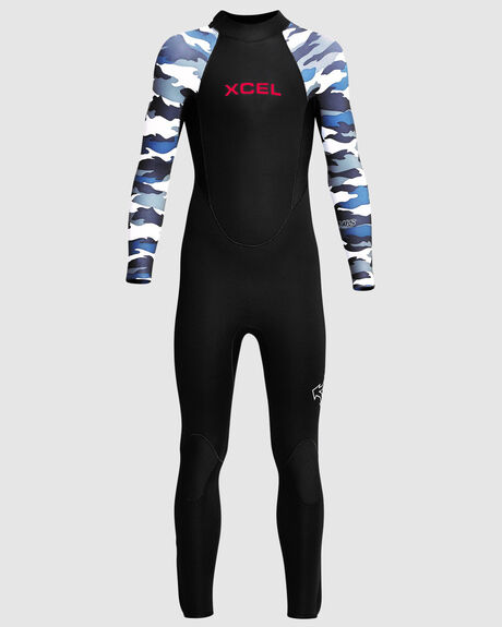 YOUTH AXIS 3/2MM BACK ZIP FULLSUIT