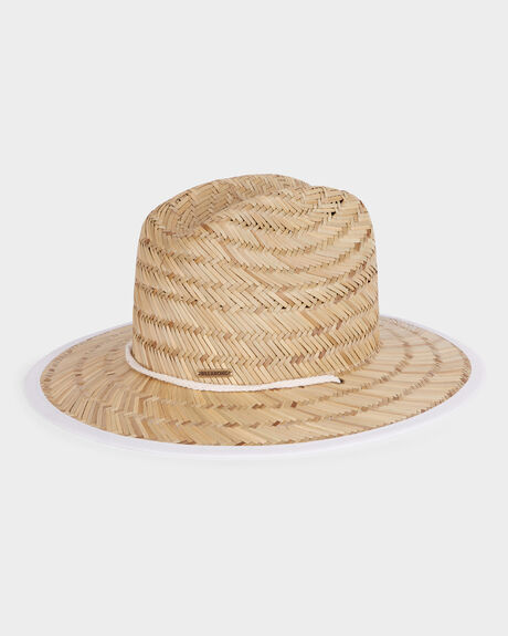PARADISE PALMS STRAW HAT