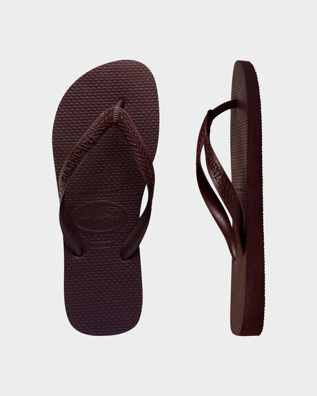 HAVAIANAS TOP CHOCOLATE BROWN THONG