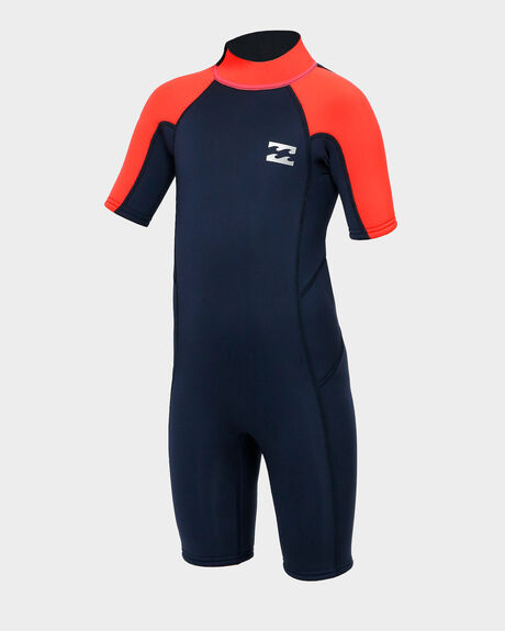 TODDLER BOYS 2MM ABSOLUTE SHORT SLEEVE SPRING SUIT