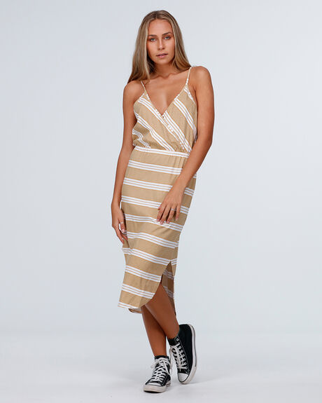 DROP IN MIDI DRESS