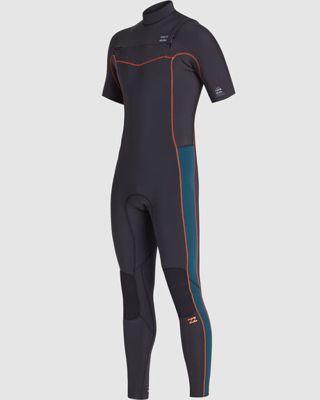 202 REVOLUTION CHEST ZIP SHORT SLEEVE FULLSUIT