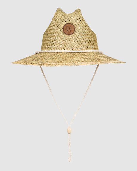 WOMENS SUNSHINE ON MY MIND STRAW SUN HAT