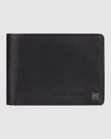 MENS MACK TRI FOLD LEATHER WALLET