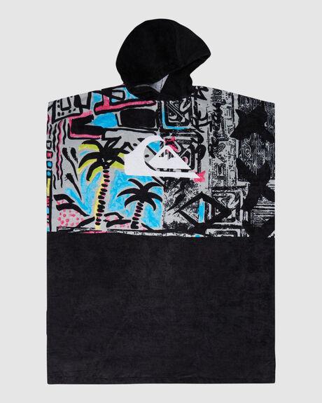 MENS SURF PONCHO HOODY TOWEL